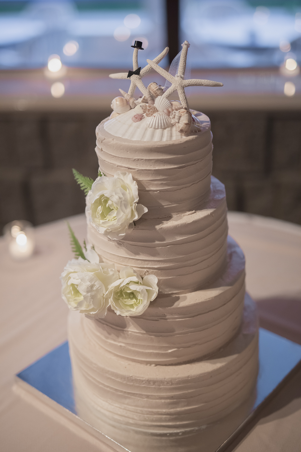 Virginia Beach Wedding Photographer Cake