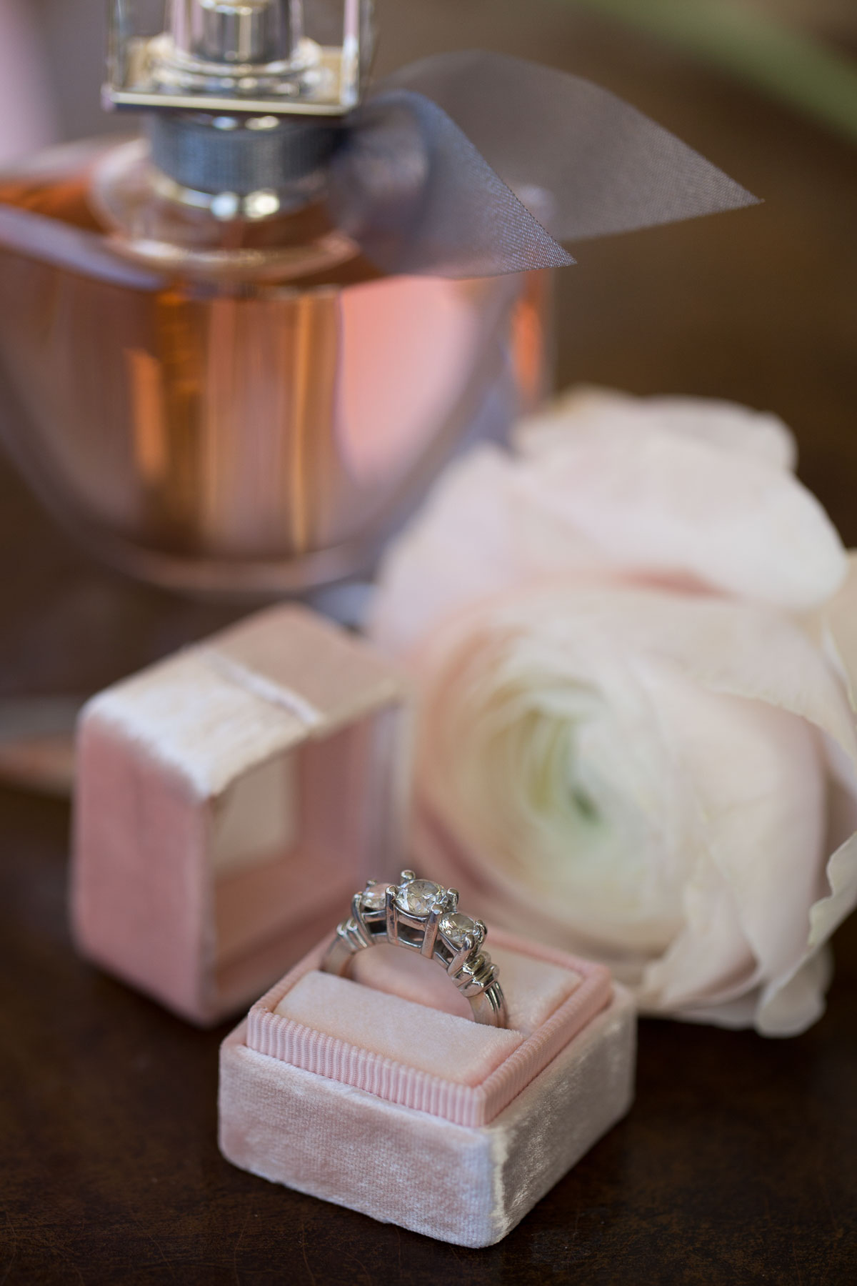 Fredericksburg Wedding Ring Detail Shot