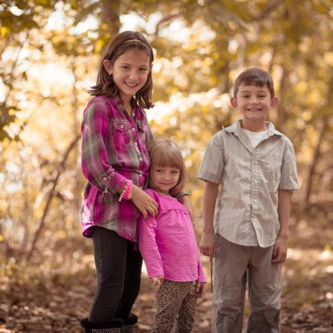 Oak Grove Park Chesapeake Family Portraits Fall