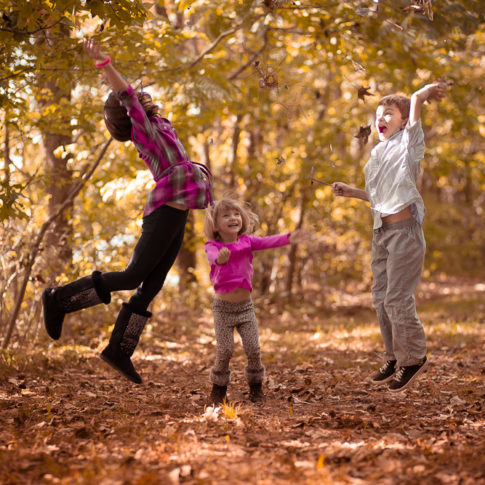 Oak Grove Park Chesapeake Kids Portraits