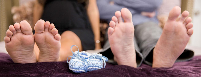 Norfolk Maternity Pregnancy Announcement