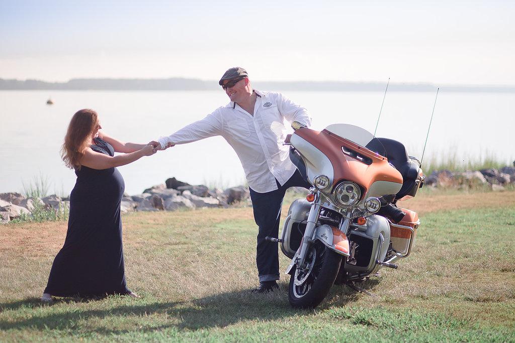 maternity motorcycle harley