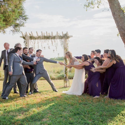 Bayvue Estate Wedding Bridal Party
