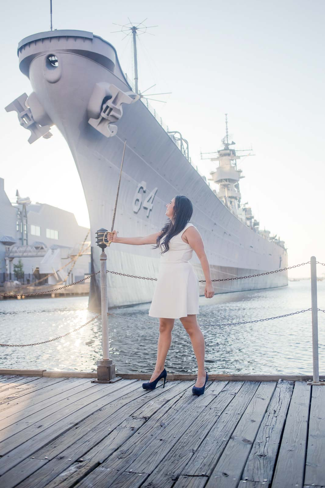 sunset norfolk constitution ship engagement