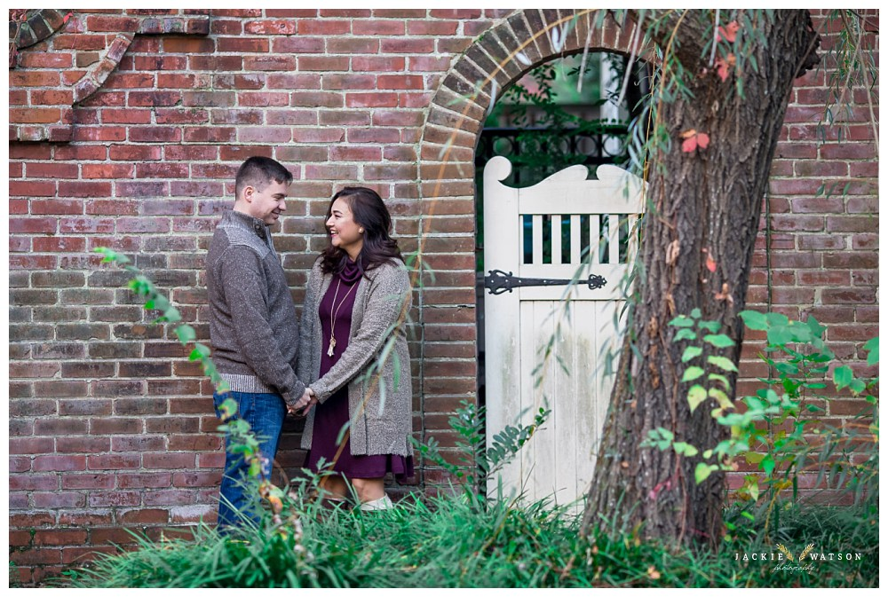 Freemason Norfolk VA Engagement Proposal Photography