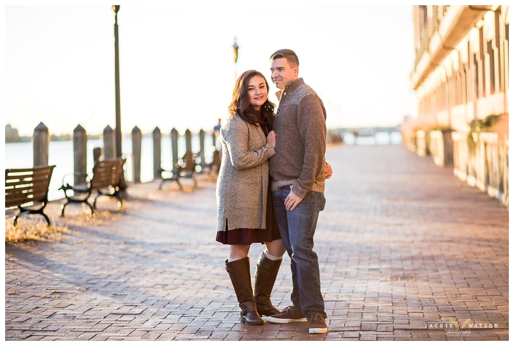 Downtown Norfolk Engagement Proposal Photos