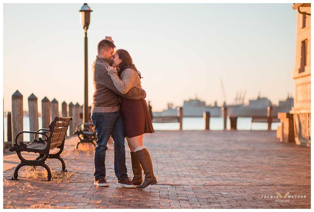 Surprise Proposal Engagement Photography Norfolk VA