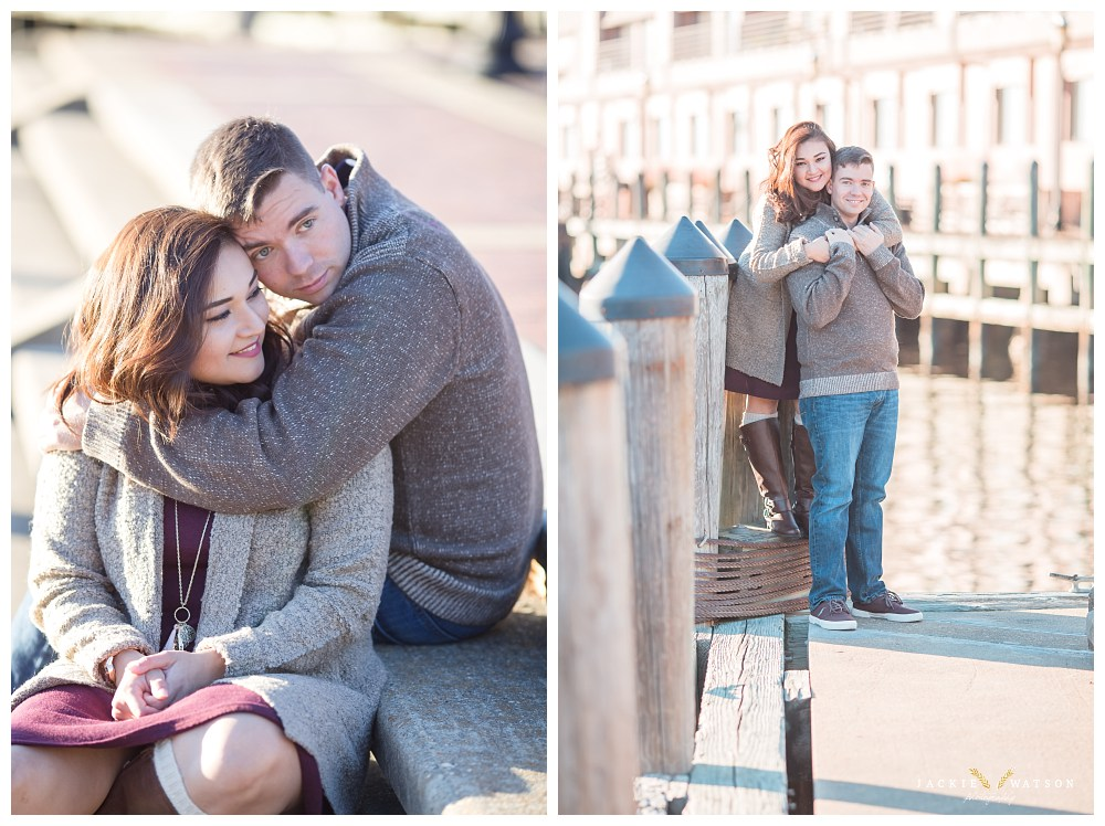 Downtown Norfolk Freemason Engagement Photography