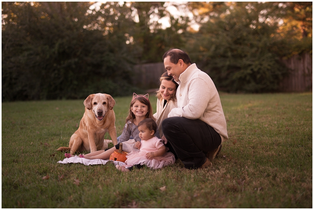 family portraits in your own backyard