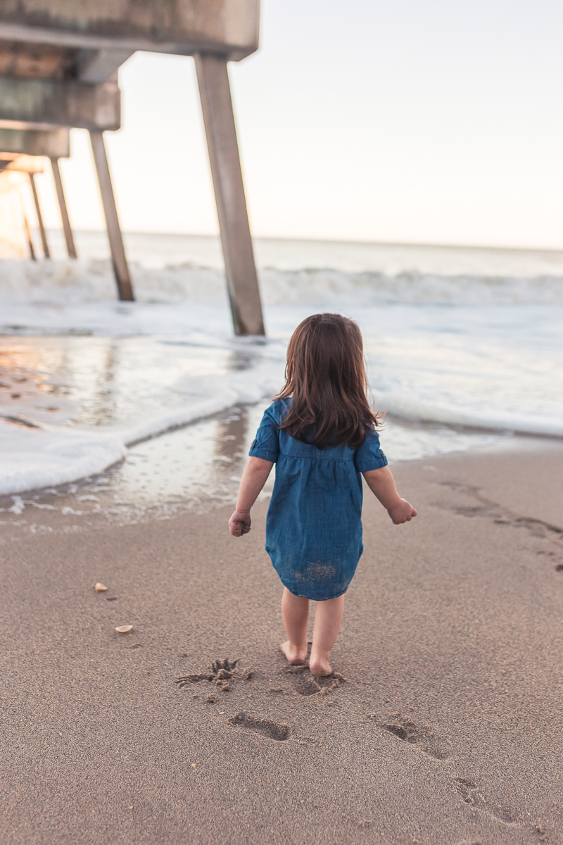 vero beach pier family photos